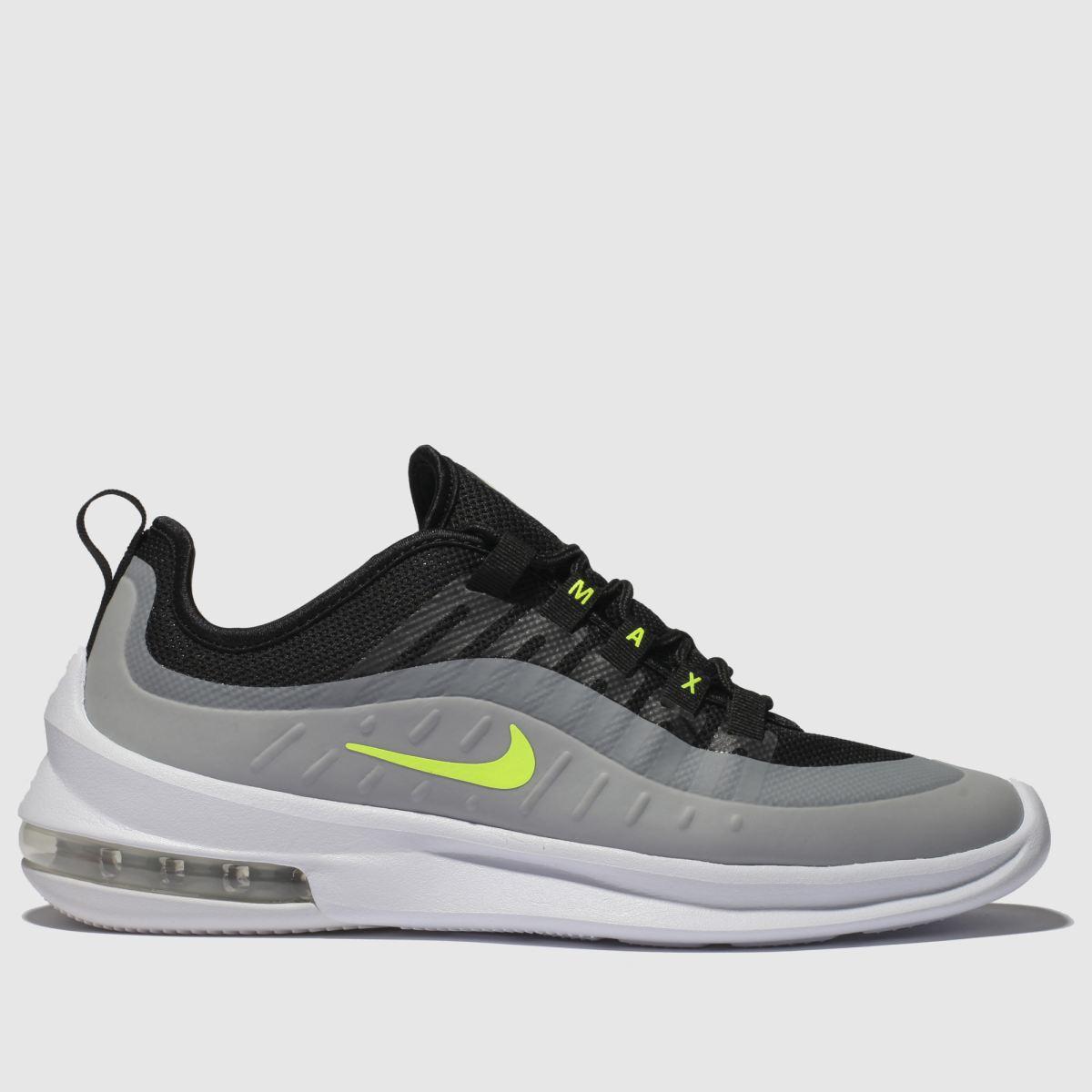 Nike Black & Grey Air Max Axis Trainers