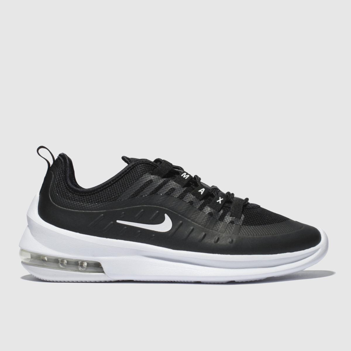 Nike Black & White Air Max Axis Trainers
