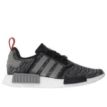 Adidas Black & Grey Nmd_r1 Mens Trainers