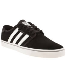 Black & White Adidas Seeley