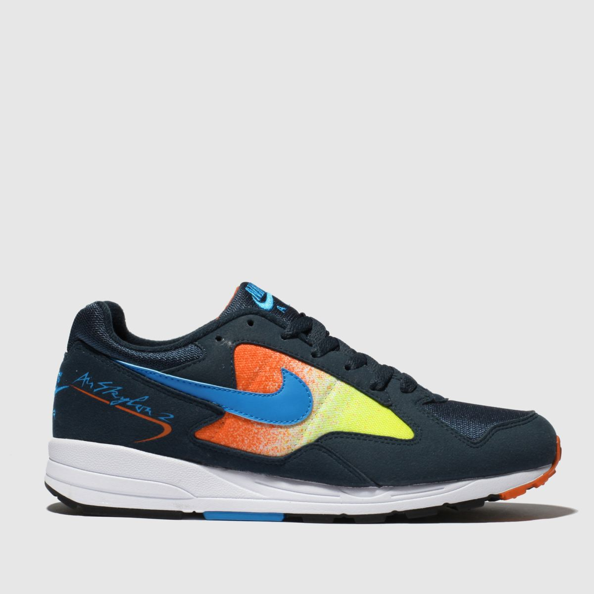 Nike Navy & Pl Blue Air Skylon Ii Trainers