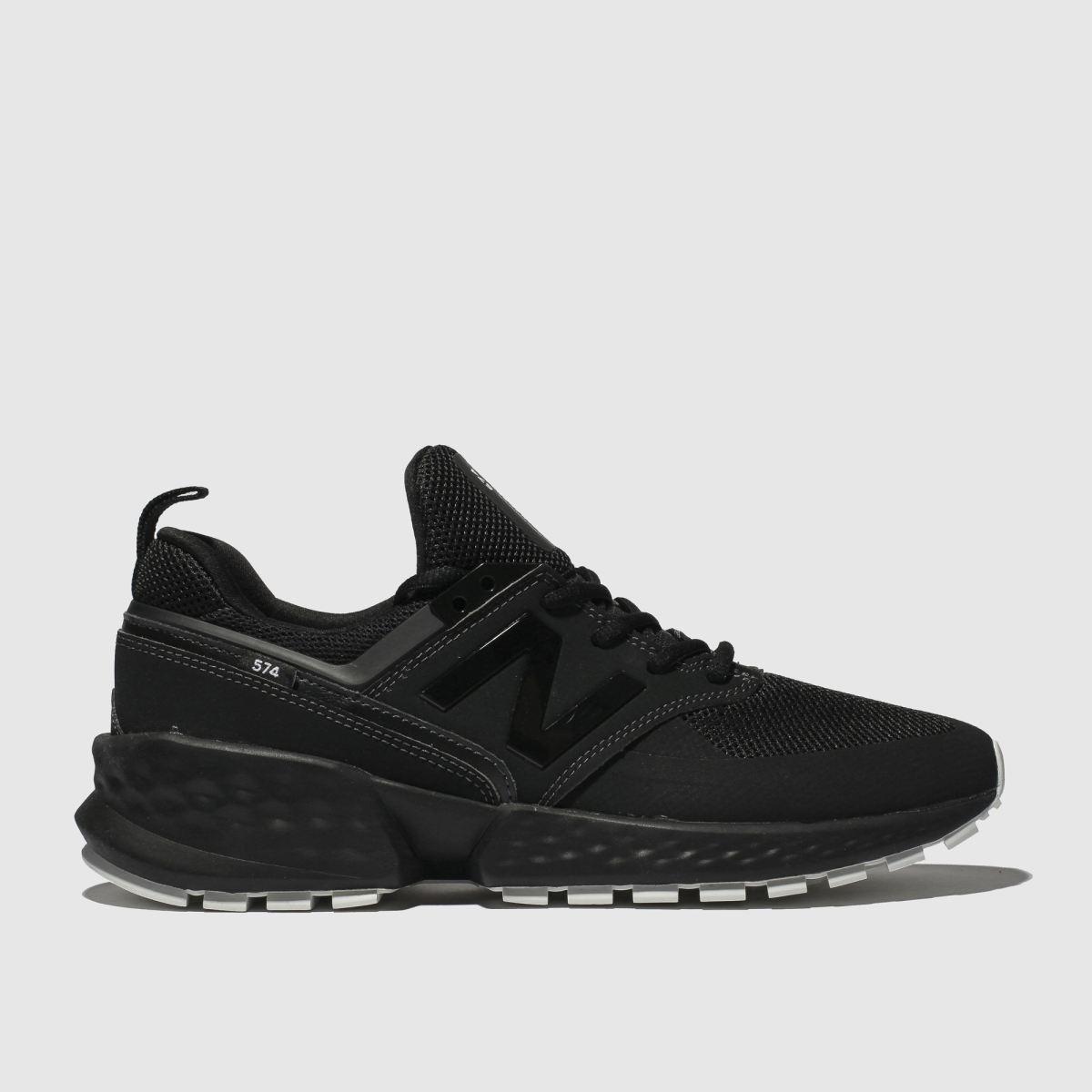 New Balance Black 574 V2 Trainers
