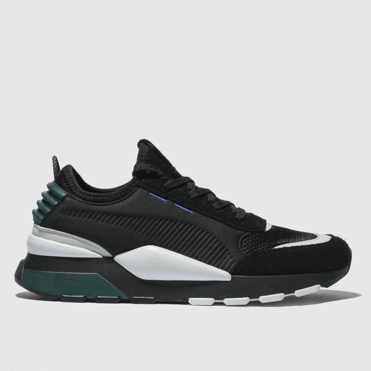 Puma Black & Green Rs-0 Winter Inj Toys Trainers