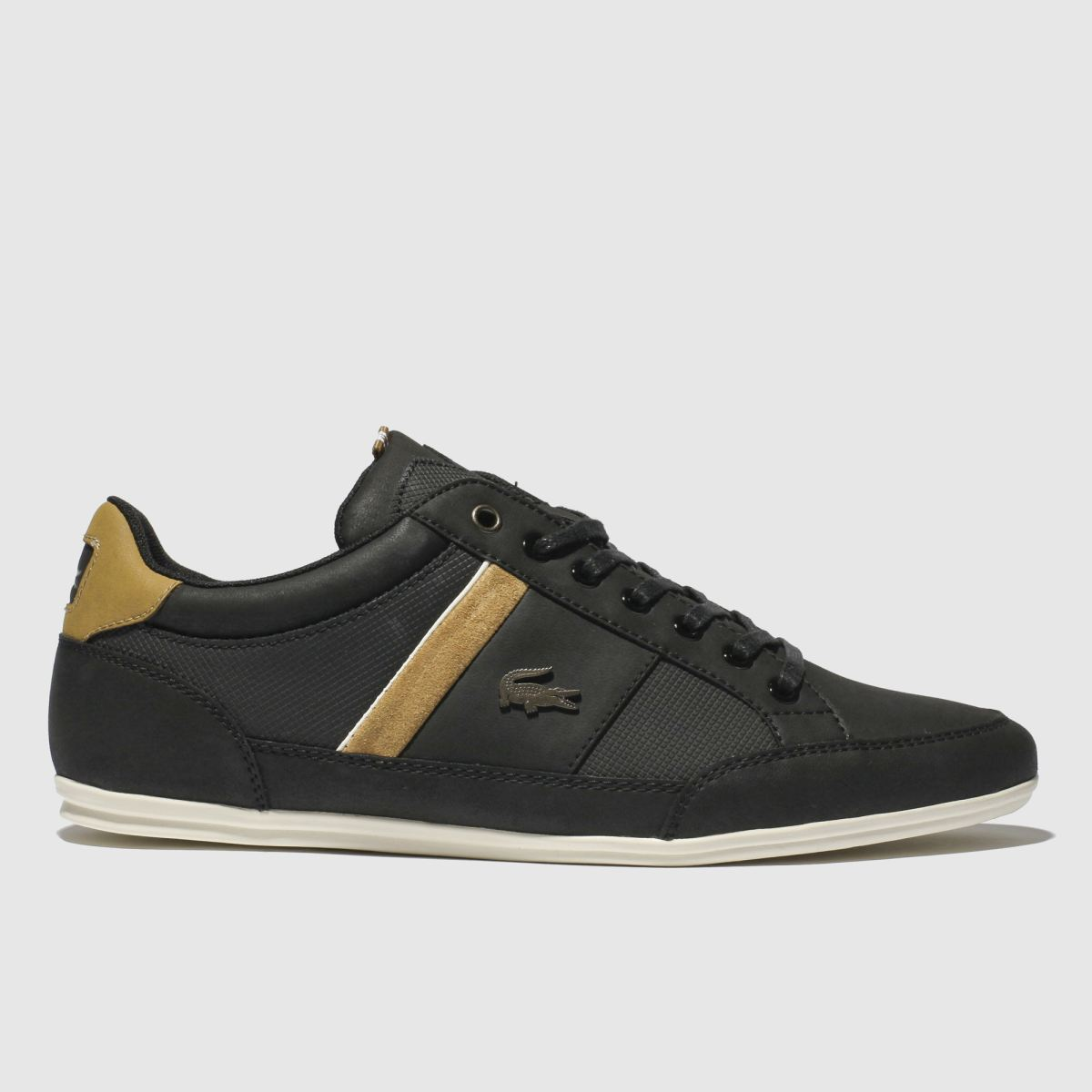 Lacoste Black & Brown Chaymon Trainers