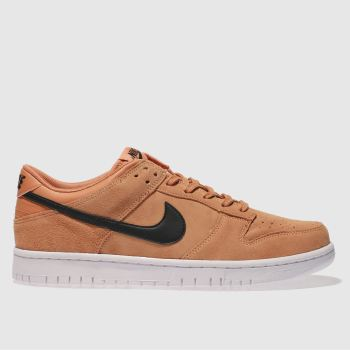 Nike Orange Dunk Low Mens Trainers