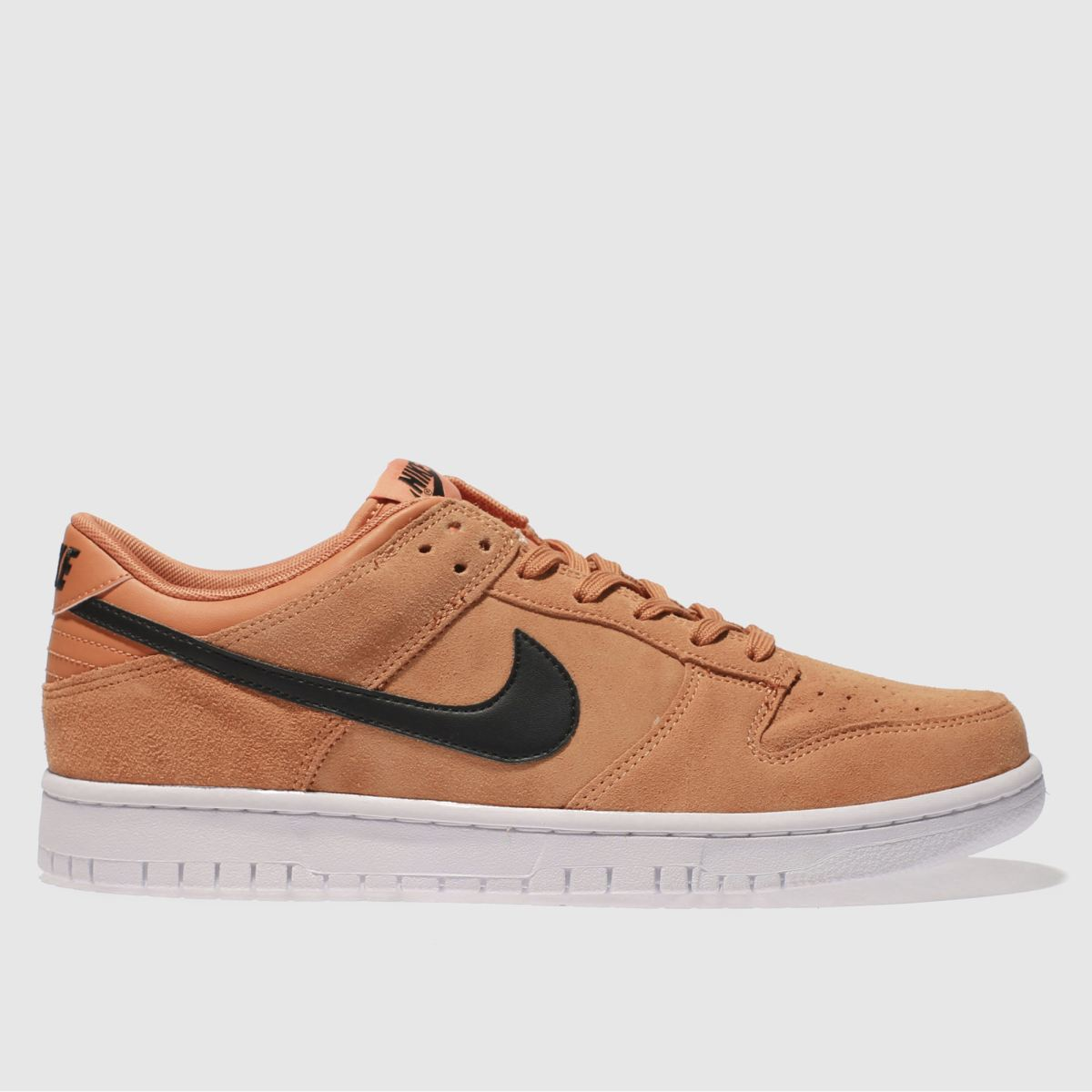 Nike Orange Dunk Low Trainers