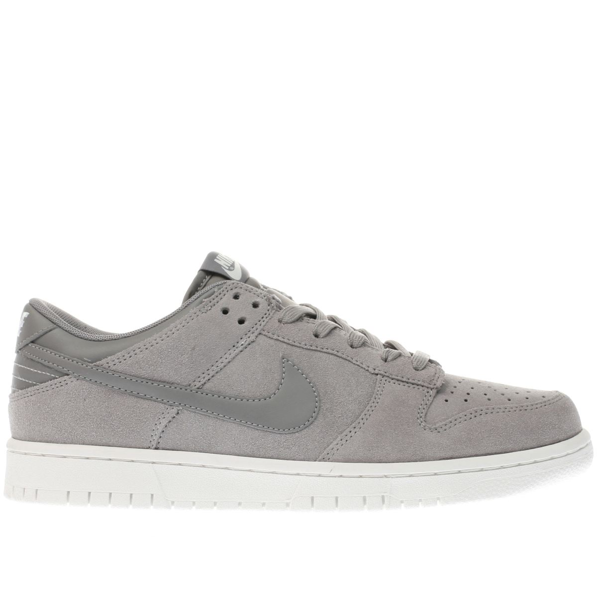 nike grey dunk low trainers