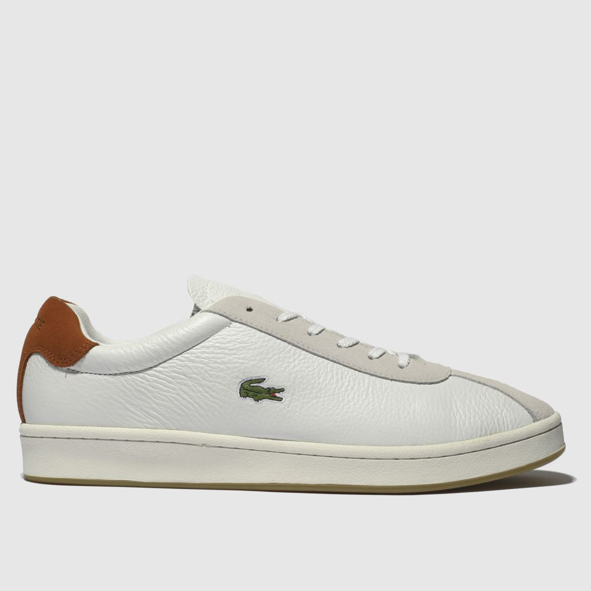 Lacoste White Masters Trainers