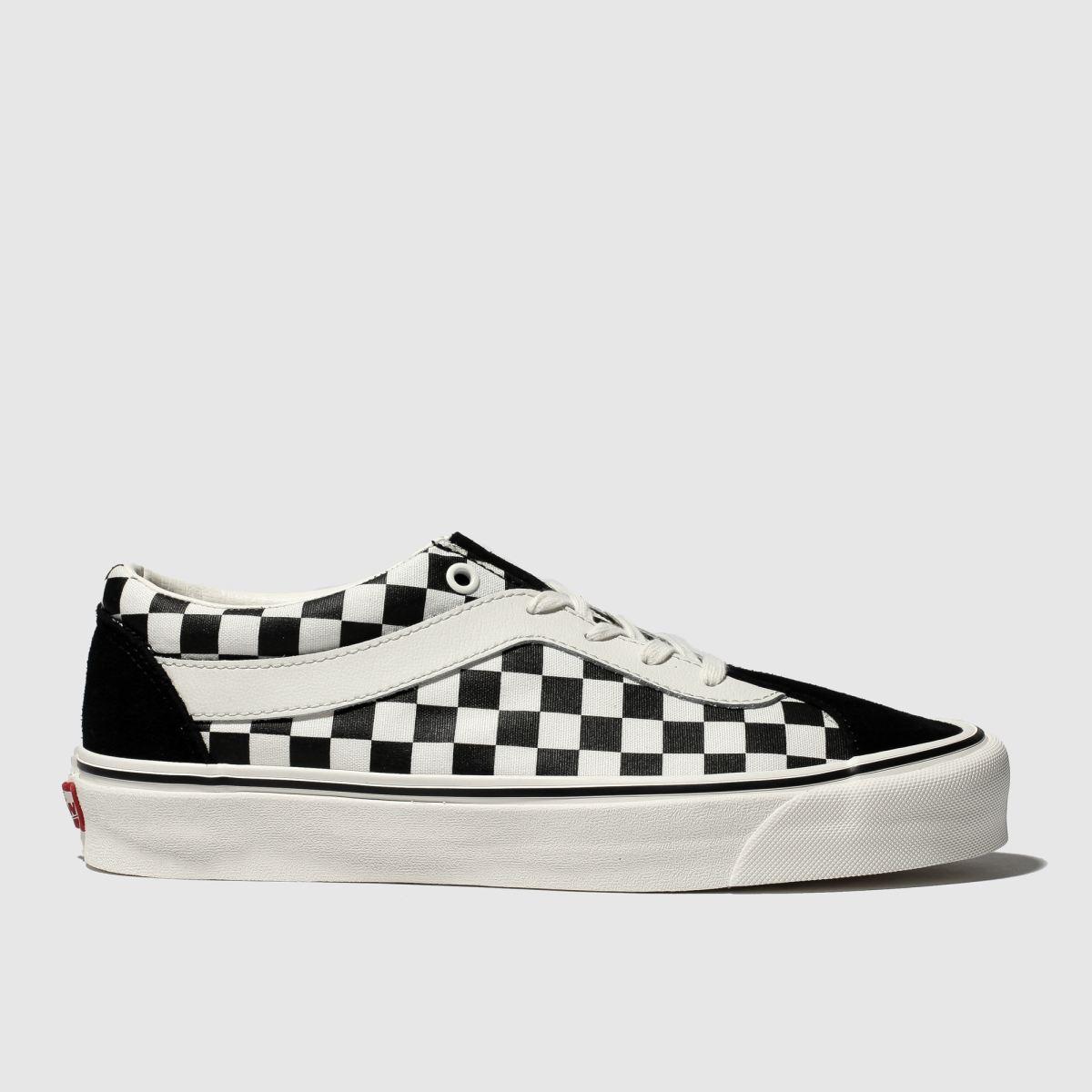 Vans Black & White Bold Ni Checkerboard Trainers