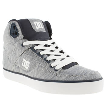 Dc Shoes Blue Dc Spartan Hi Wc Tx Trainers
