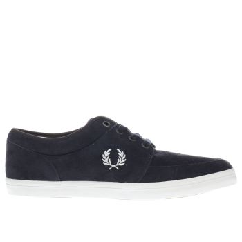 Fred Perry Navy Stratford Trainers