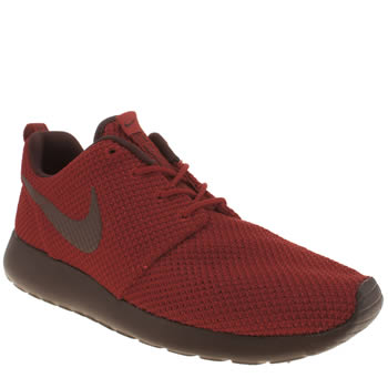 Mens Nike Red Roshe Run Trainers