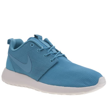 Mens Nike Blue Roshe Run Trainers
