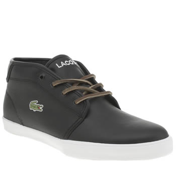 Mens Lacoste Black Ampthill Tbr2 Trainers