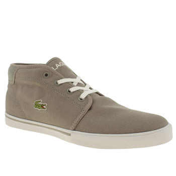 Mens Lacoste Grey Ampthill Lcr2 Trainers