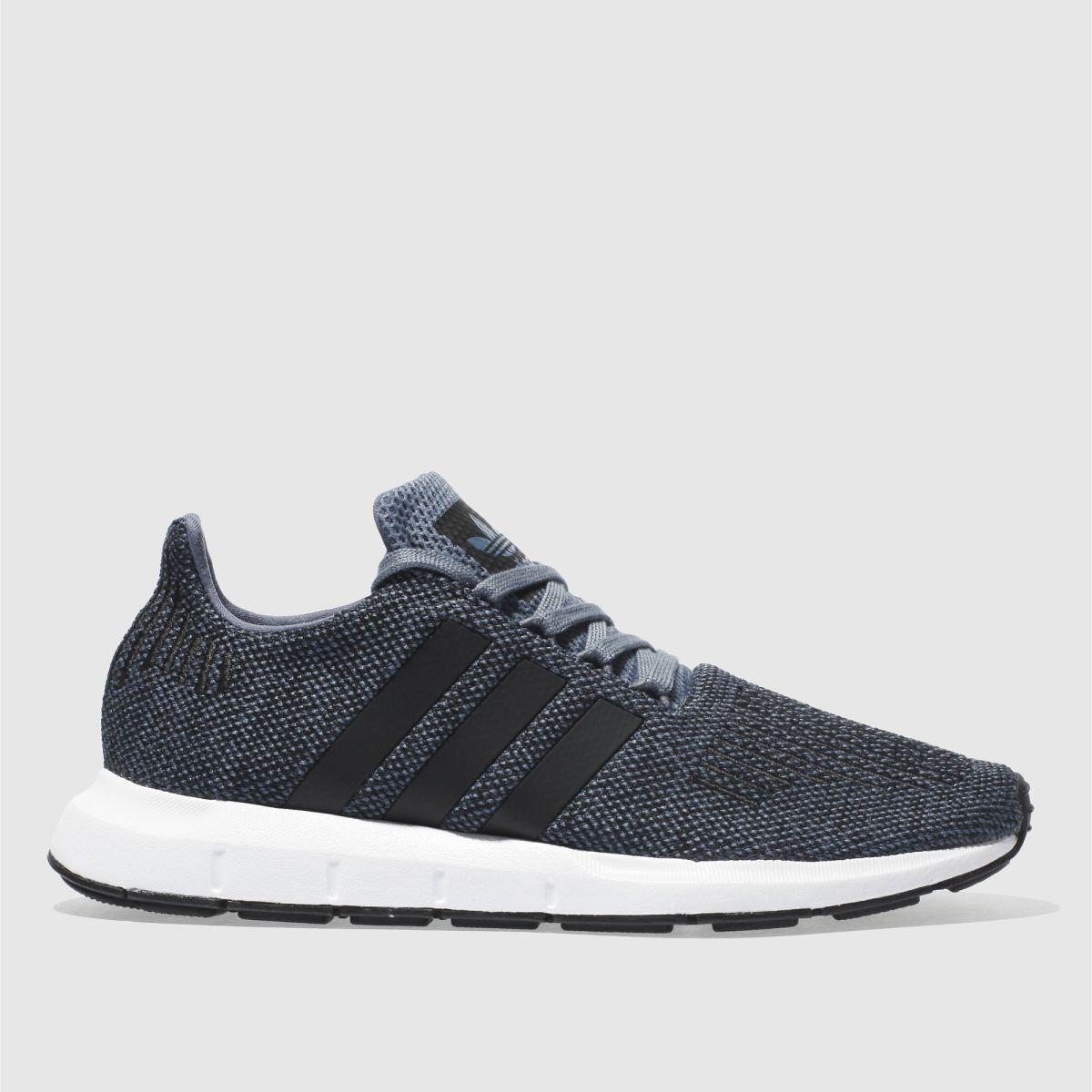 Adidas Blue Swift Run Trainers