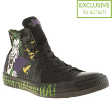Black Converse All Star Joker