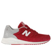 New Balance Red 530 Mens Trainers