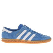 Adidas Blue Hamburg Mens Trainers