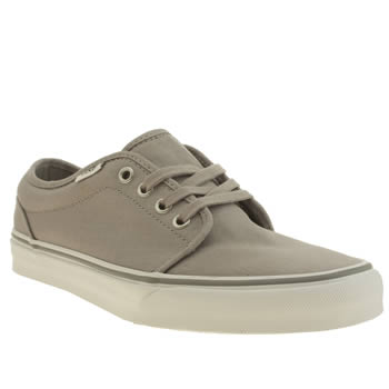 Vans Grey 106 Vulc Trainers