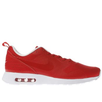 Nike Red Air Max Tavas Mens Trainers