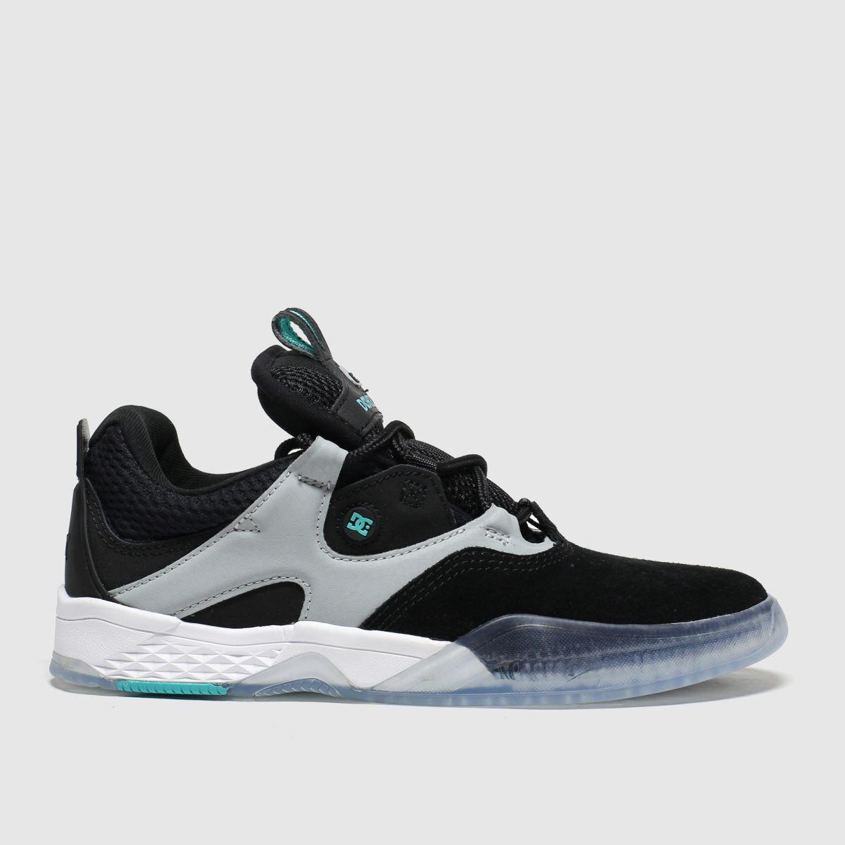 dc shoes Dc Shoes Black & Grey Kalis Trainers