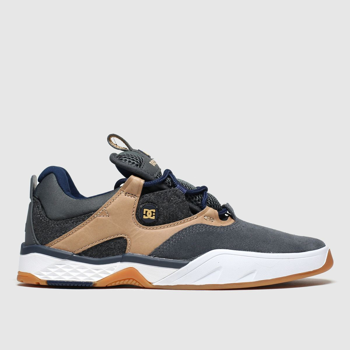 dc shoes Dc Shoes Black & Brown Kalis Trainers
