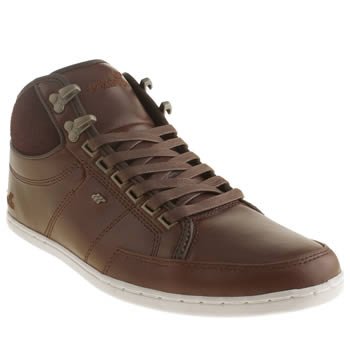 Mens Boxfresh Dark Brown Swapp Prem Boots