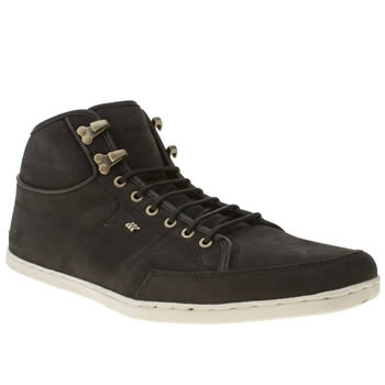 mens boxfresh black swapp trainers