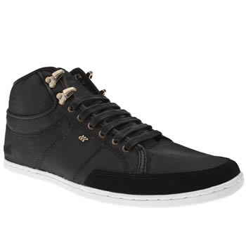 Boxfresh Black Swapp Mens Trainers