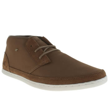 Mens Boxfresh Tan Milford Trainers