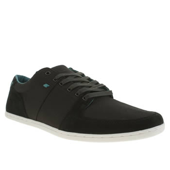 Mens Boxfresh Black Spencer Trainers