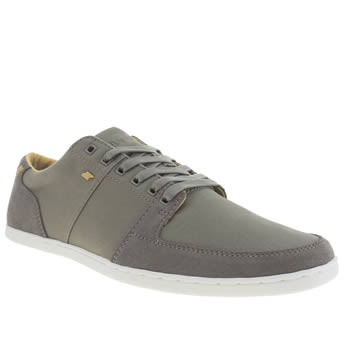 Mens Boxfresh Grey Spencer Trainers