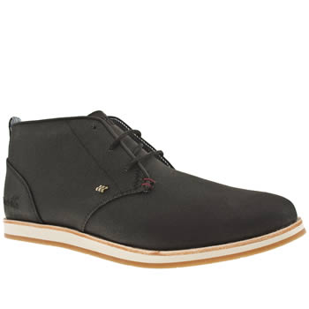 Mens Boxfresh Black Dalston Trainers