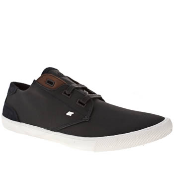 Mens Boxfresh Navy & White Stern Trainers