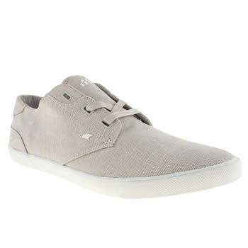 Mens Boxfresh Light Grey Stern Trainers