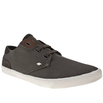 Mens Boxfresh Grey Stern Trainers