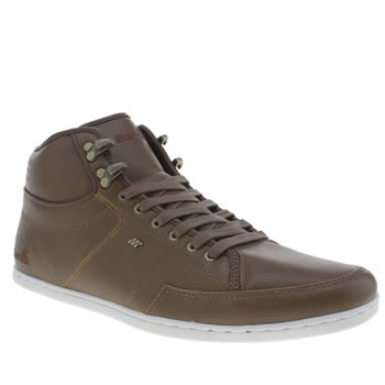 Mens Boxfresh Brown Swapp 3 Trainers
