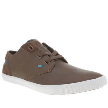 Mens Boxfresh Brown Stern Trainers