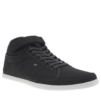 Mens Boxfresh Navy Swich Nylon Trainers