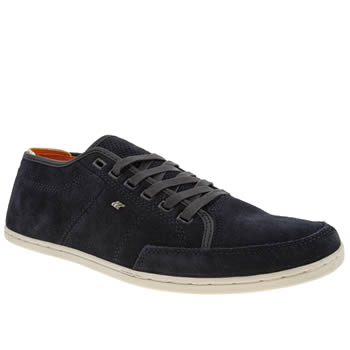 mens boxfresh navy sparko trainers