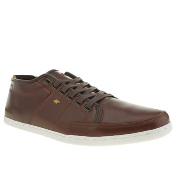 Mens Boxfresh Brown Sparko Trainers