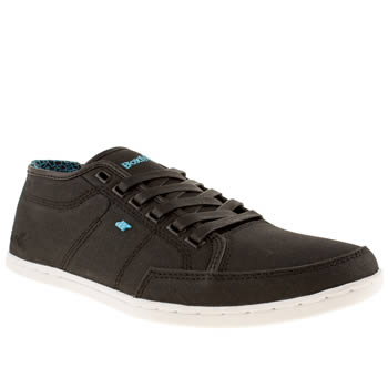 Mens Boxfresh Black Sparko Trainers