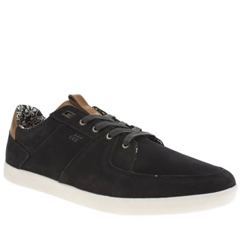 Mens Boxfresh Navy Cladd Trainers