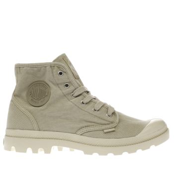 Palladium Natural Pampa Hi Mens Trainers