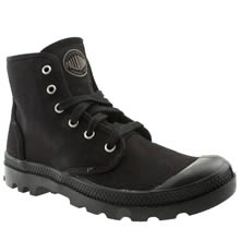 Palladium Black Pampa Hi Mens Trainers