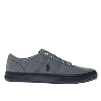 Polo Ralph Lauren Blue TYRAIN Trainers