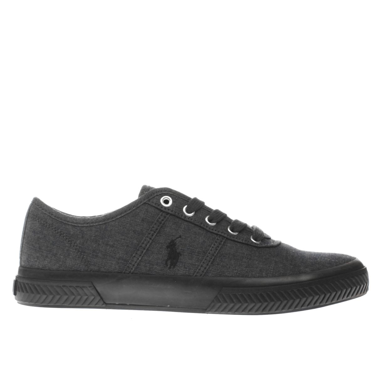 polo ralph lauren dark grey tyrain trainers