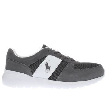 Polo Ralph Lauren Grey Cordell Trainers