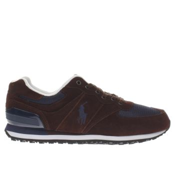 Polo Sport Burgundy Slaton Pony Trainers